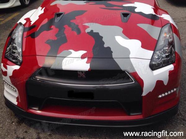 GTR R35 CAMO Sticker Wrap GTR