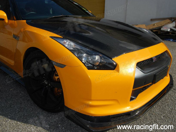 GTR R35 Top Secret Front Skirt