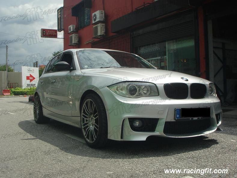 BMW E87 1-Series M Design Front Bumper